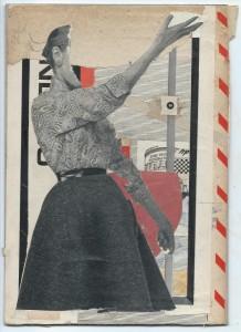 Collage papier 14 - A5 (14.8x21cm)